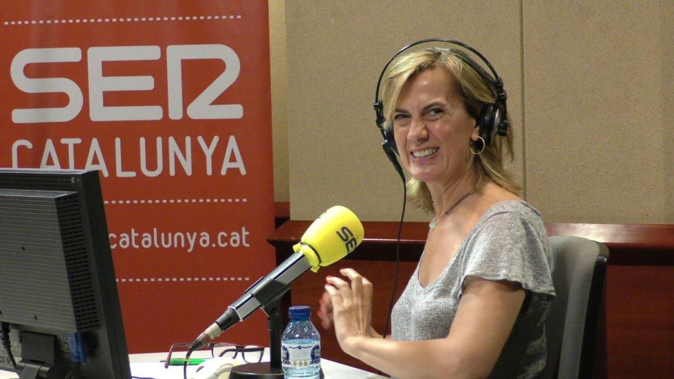 Gemma Nierga, en sus últimos minutos al frente de Hoy por Hoy