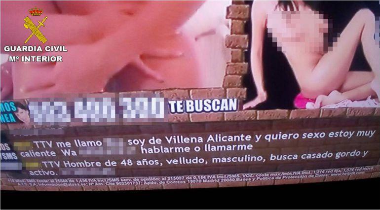 Anuncios de encuentros sexo en Alicante