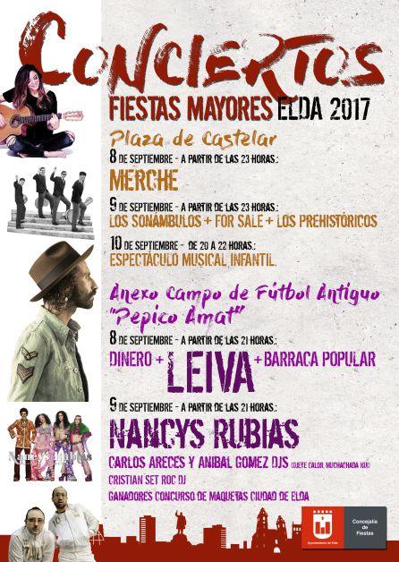 Nancys Rubias Completa Los Conciertos De Fiestas Mayores En Elda Radio Elda Actualidad Cadena Ser