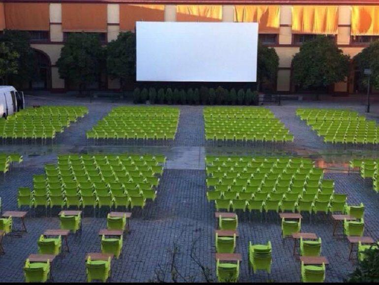 El cine de verano de la Diputación de Sevilla vuelve a abrir sus puertas