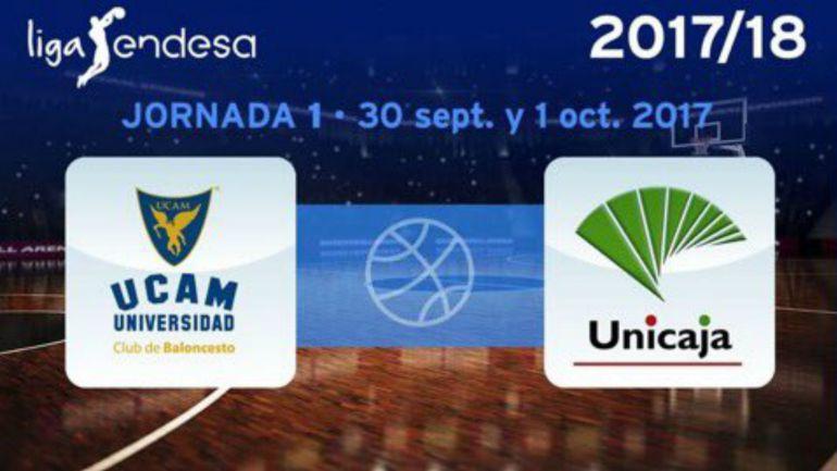 Calendario Unicaja.Calendario Del Unicaja Baloncesto Para La Liga Endesa 2017 18 Ucam
