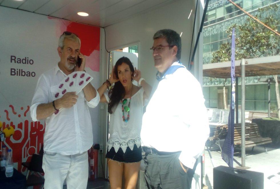 Sobera, Sáez y Aburto en 'Open Jaia'