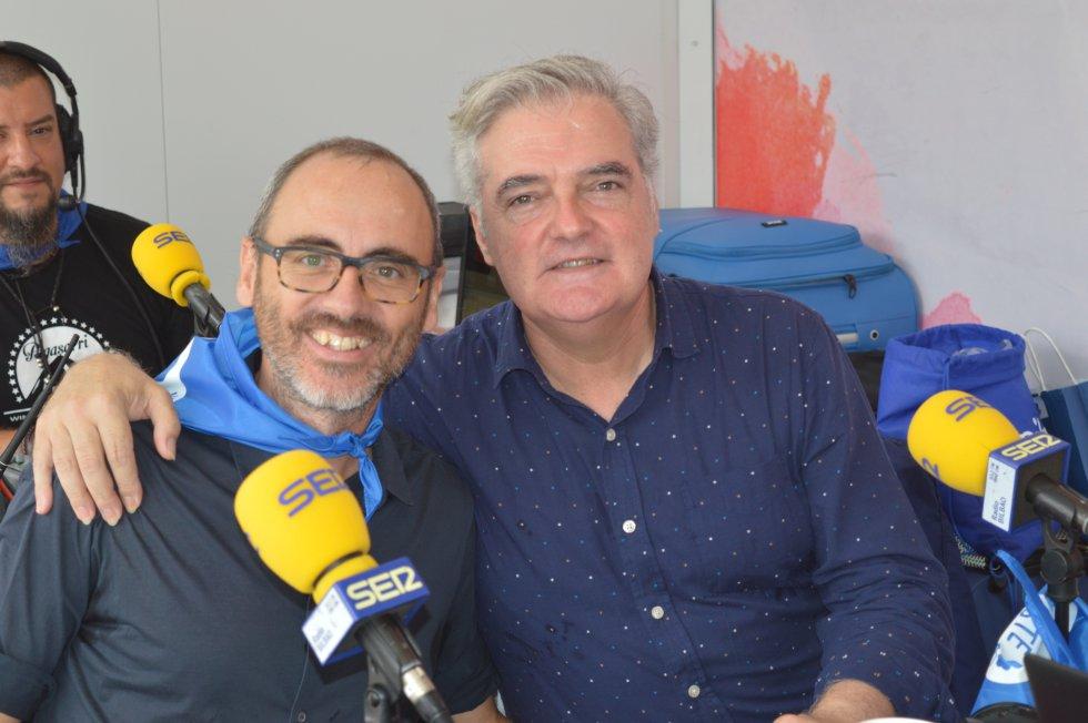 Iñaki Uranga y Borja Pujol