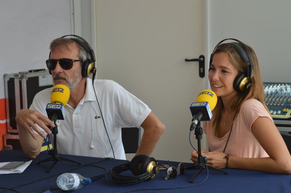 Fernando Guillén Cuervo y Natalia Sánchez