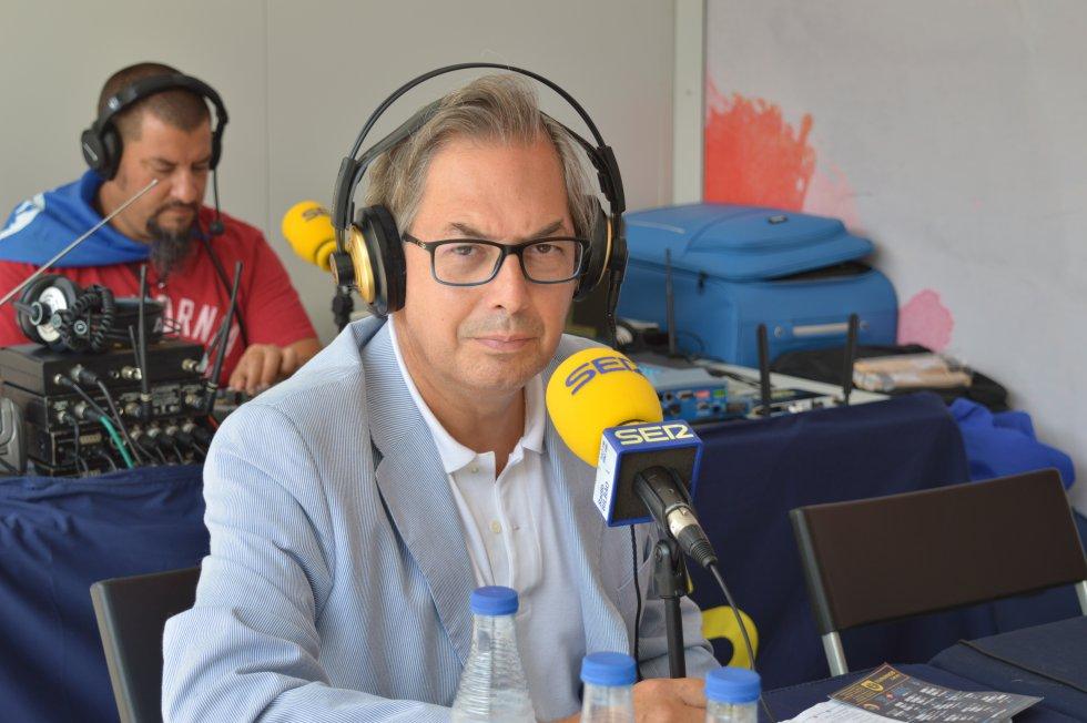 Sabino Gutiérrez durante el espacio taurino.