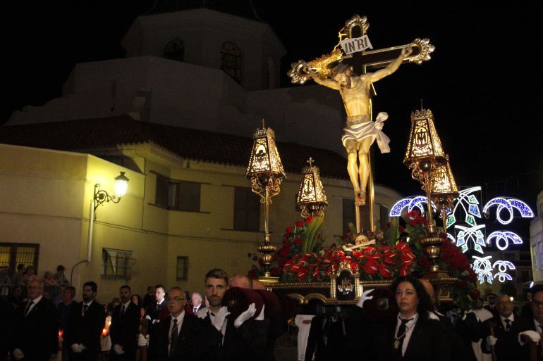 Procesión del Cristo del Buen Suceso en Elda