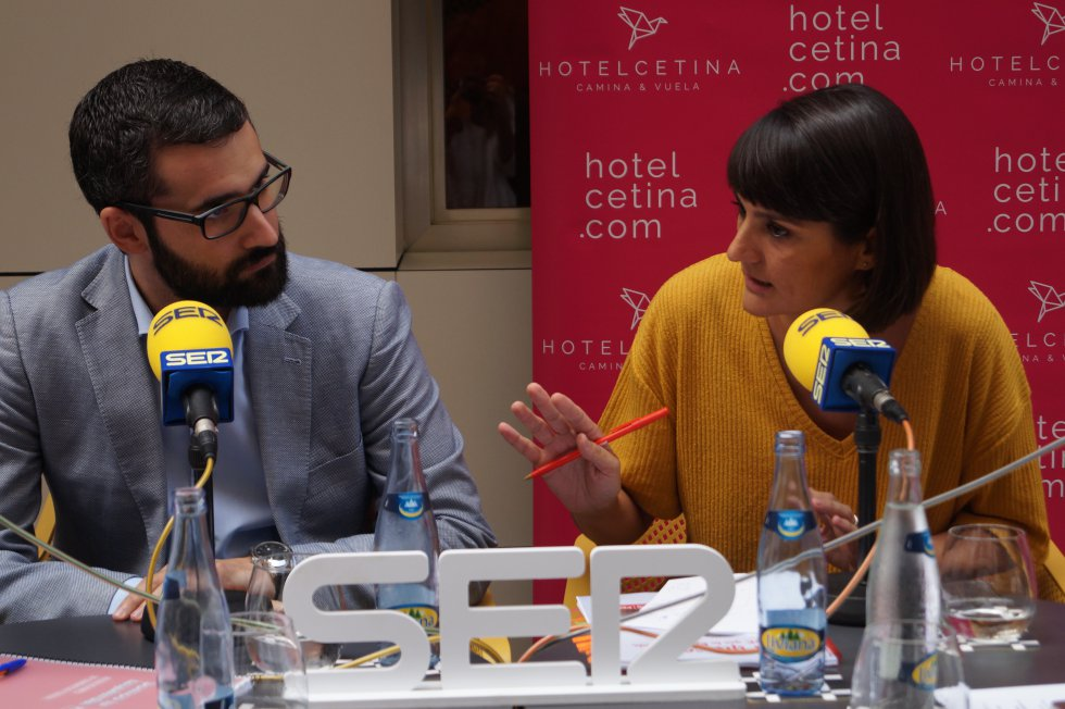 Los tres candidatos a liderar el PSRM-PSOE, en A vivir que son dos días