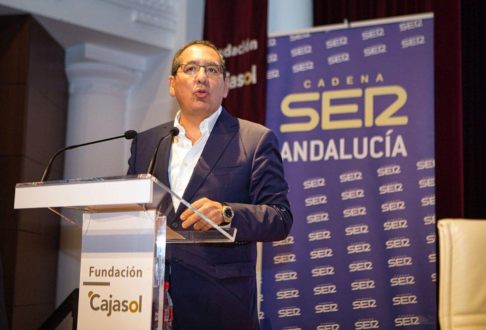 Antonio Pulido, presidente de la Fundación Cajasol
