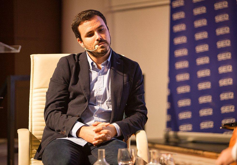 Alberto Garzón,coordinador federal de IU
