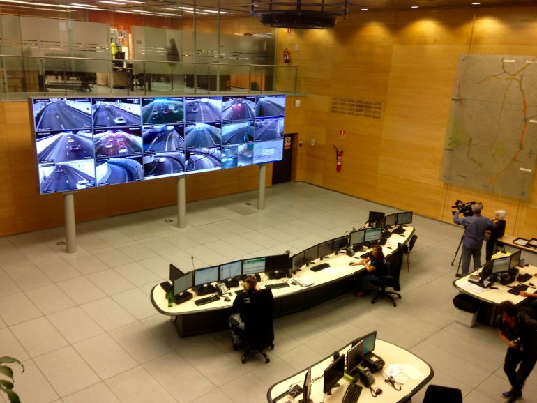 Madrid refuerza la seguridad en los túneles de la M-30