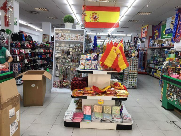 0a2129f7ffb Las banderas de España, producto estrella de los bazares chinos ...