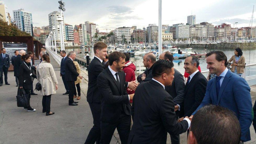 Fotogalería de los All Blacks en Gijón