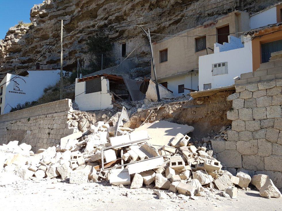 Se han visto afectadas dos viviendas