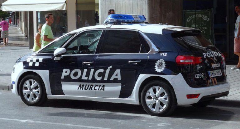 c969007d52a4 La Policía Local detiene a un menor por robo con violencia en Murcia ...