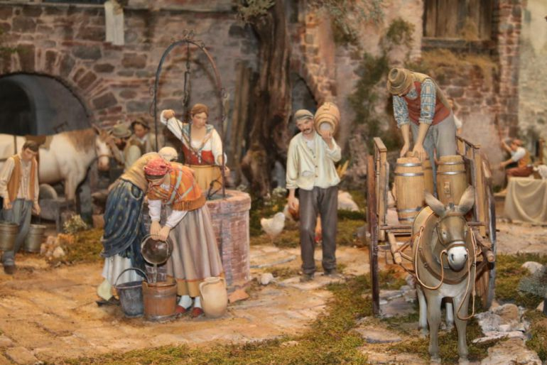 Imagenes De Belenes Para Imprimir.En Mollina Malaga Abre El Museo De Belenes Mas Grande Del