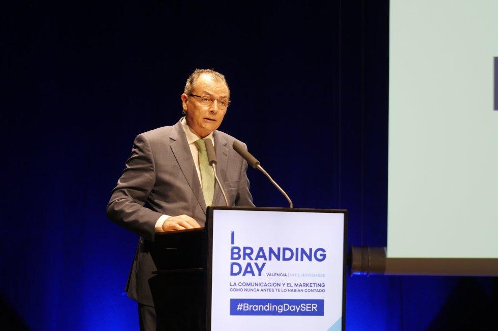 Salvador Navarro, presidente de la CEV, abre el Branding Day de Valencia