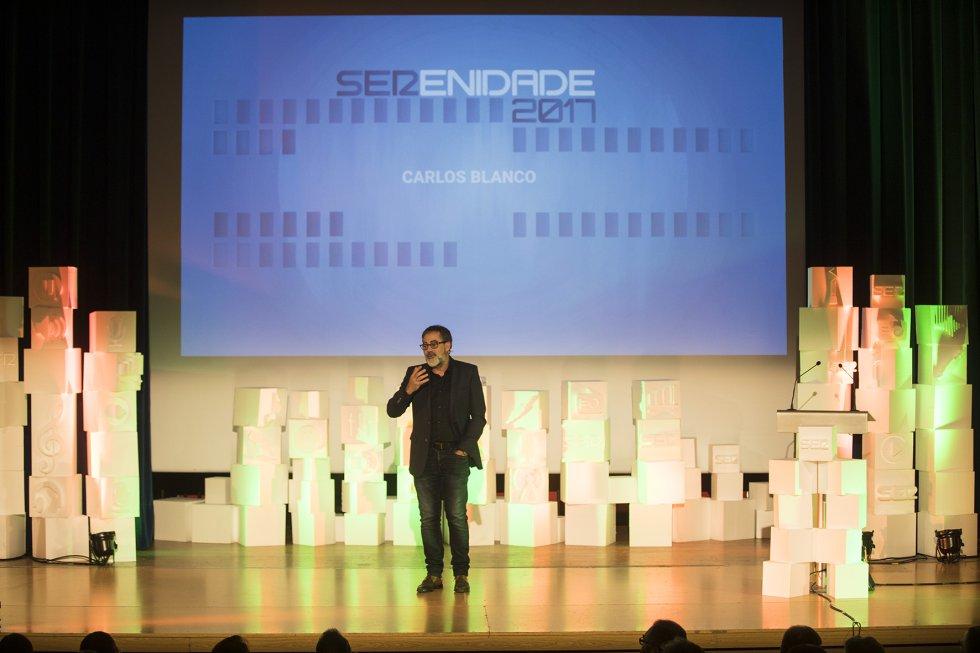 Carlos Blanco, monologuista que puso la nota divertida a la gala