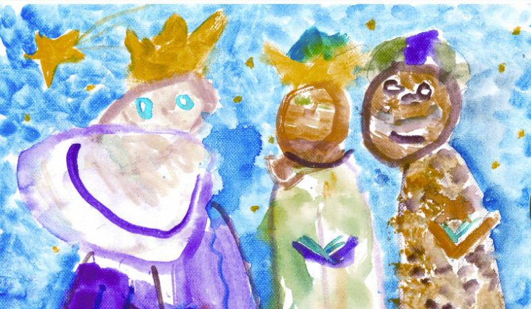 Concurso De Dibujo Infantil Carta La Los Reyes Magos Ser Madrid
