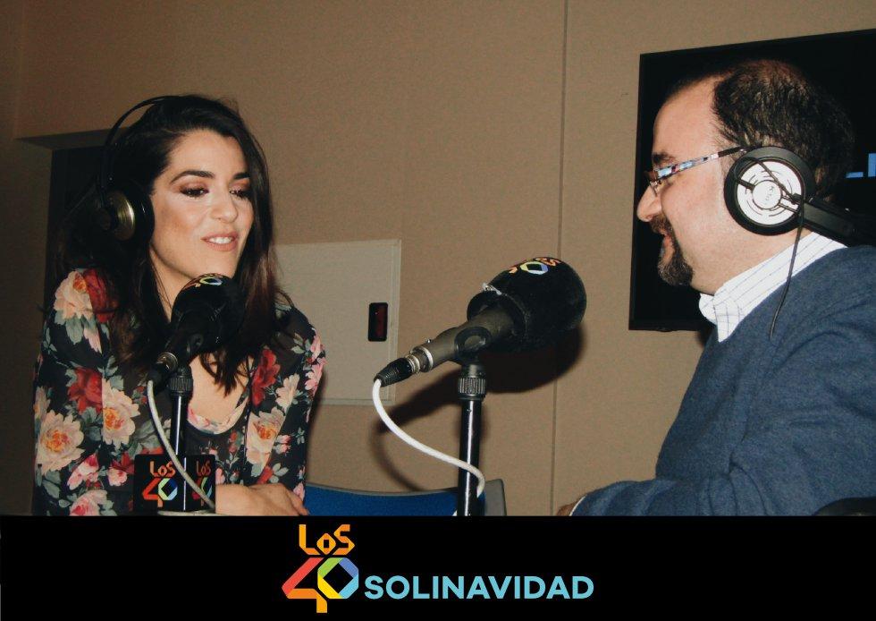 Aquí tienes las mejores imágenes de 'LOS40 Solinavidad' con Ruth Lorenzo en Ciudad Real