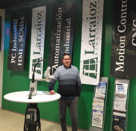 Xabier Iturralde, director técnico de Larraioz