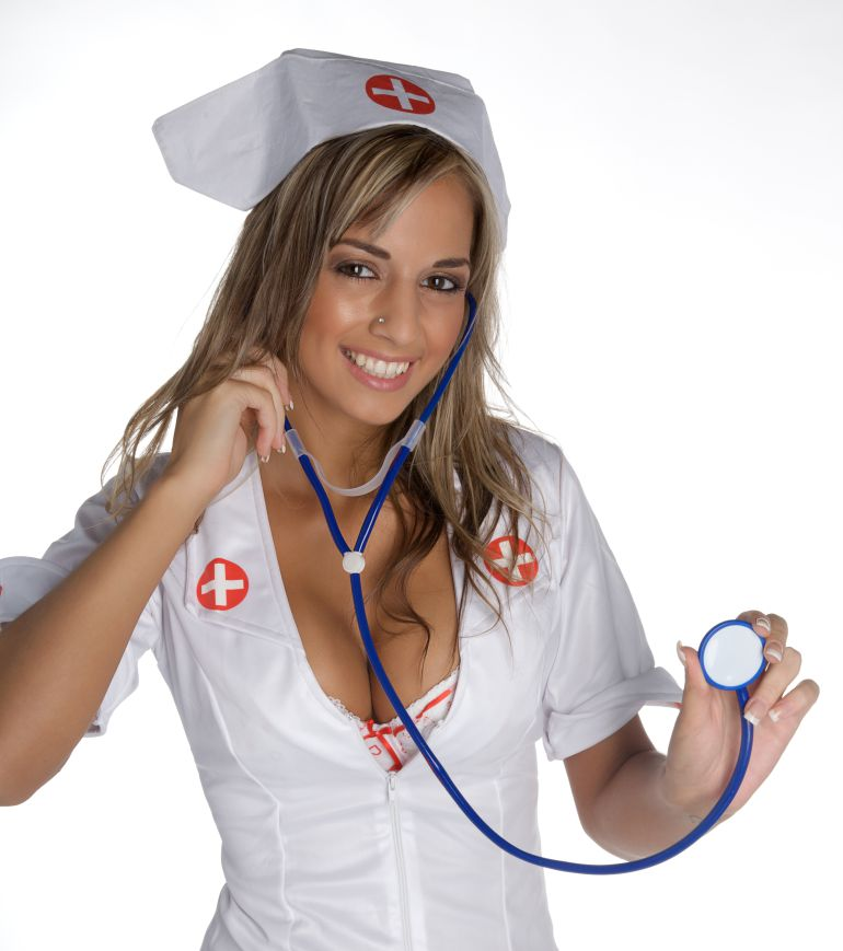 Collection of nursing black and white