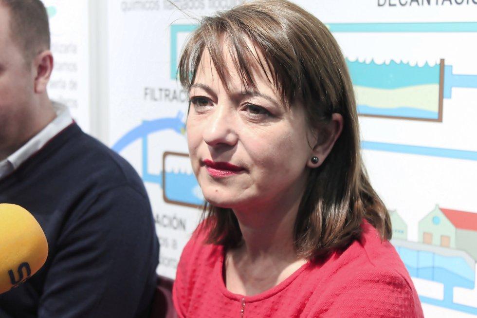 María José Villa, alcaldesa de Aspe