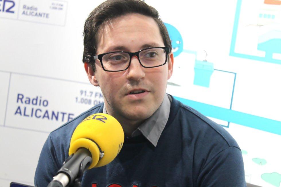 Ángel Hernández, vocal de la Junta de Hermandades y Cofradías de Aspe