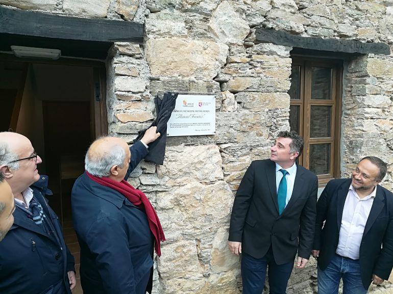 Primer albergue del Camino de Invierno en Villavieja