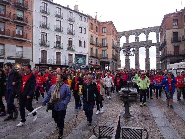 Resultado de imagen de marcha solidaria cruz roja segovia