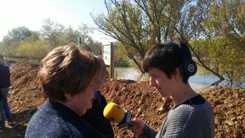 Los vecinos expresan su tranquilidad a la periodista de la SER Ana sánchez Borroy