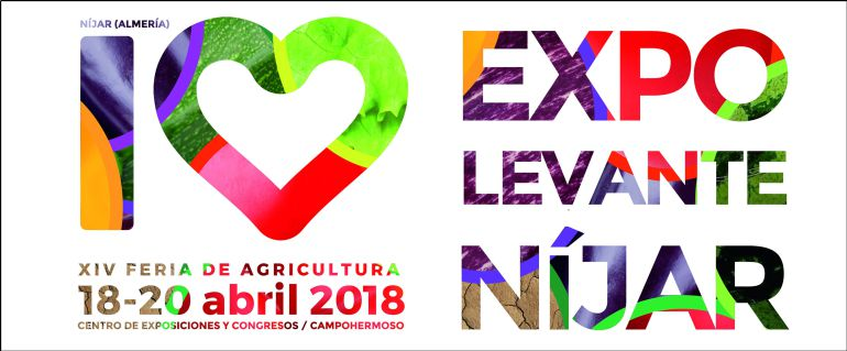 Carel anuncaidor de Expolevante, escaparate de la mejor agricultura.
