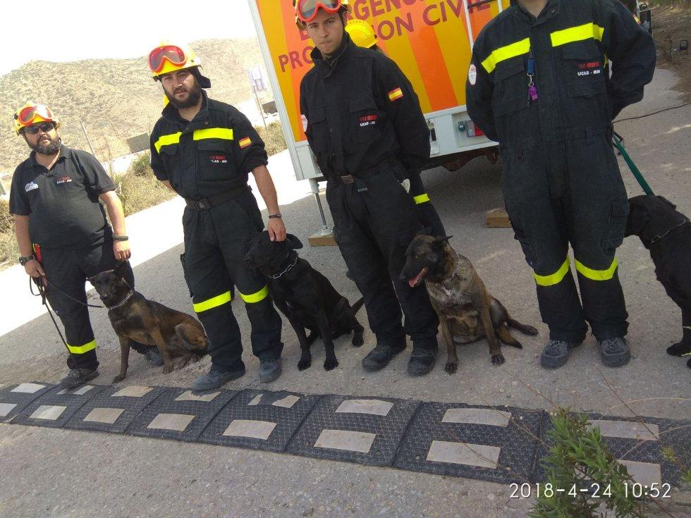 Unidad Canina de Salvamento de la Dirección General de Emergencias de la CARM