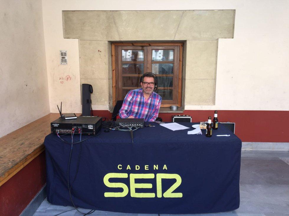Juan Cabañero, técnico del programa