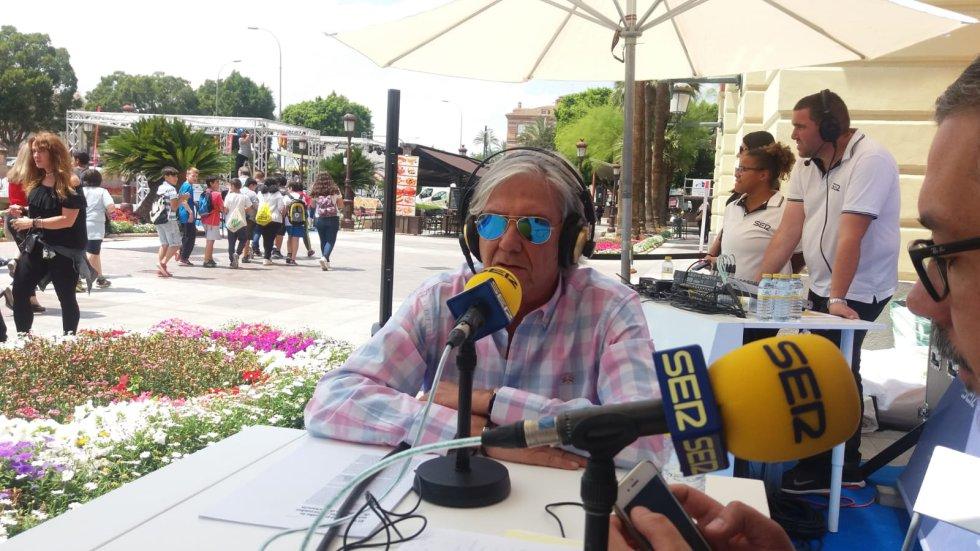 El juez Joaquín Ángel de Domingo, colaborador habitual de Hoy por Hoy Región de Murcia
