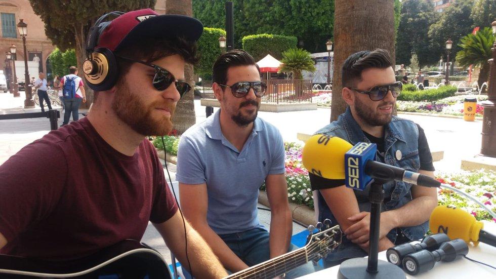 Planeta Tortuga, banda ganadora del Bruja Pop 2018 en Hoy por Hoy Región de Murcia