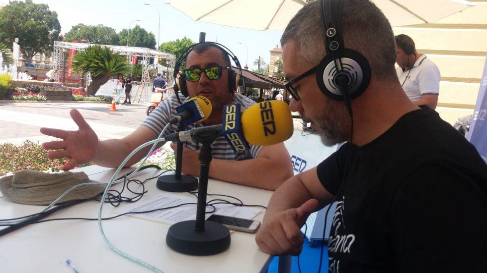 Joaquín Guillén, coordinador de emisoras musicales de Prisaradio en la Región de Murcia, le cuenta los detalles de Actúa Murcia 2018 a Paco Sánchez