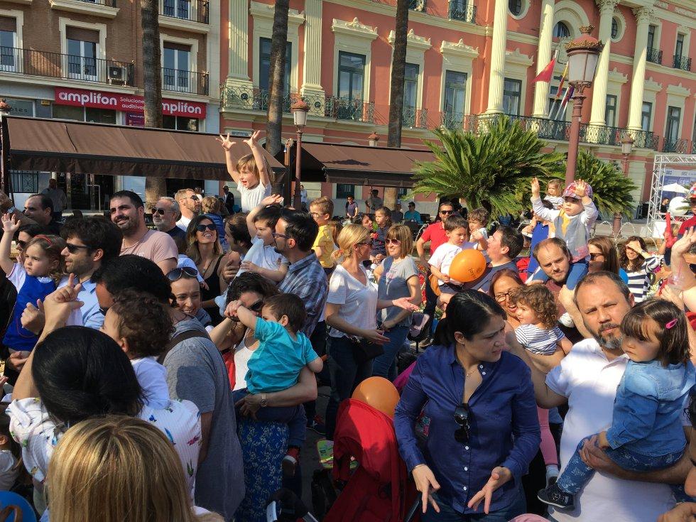 El público infantil ha sido el primero en disfrutar de Actúa Murcia 2018
