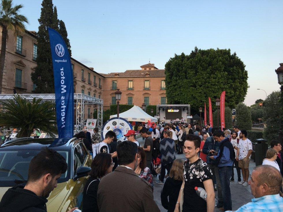 El público también ha podido disfrutar de la oferta de ocio en los diferentes stands de Actúa Murcia 2018