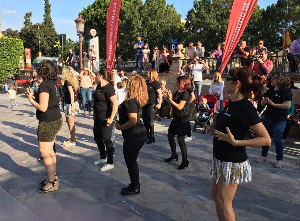 Aerodance celebra la vida bailando en Actúa Murcia 2018.