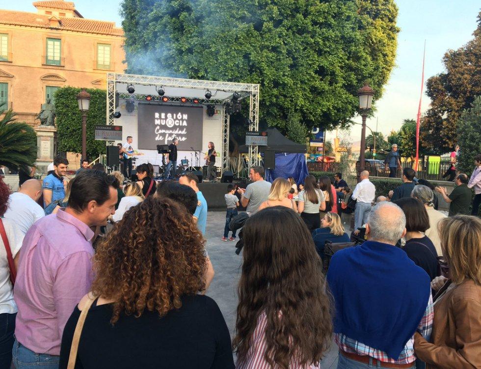 El mejor ambiente se respira en la Glorieta de Murcia con Actúa 2018.
