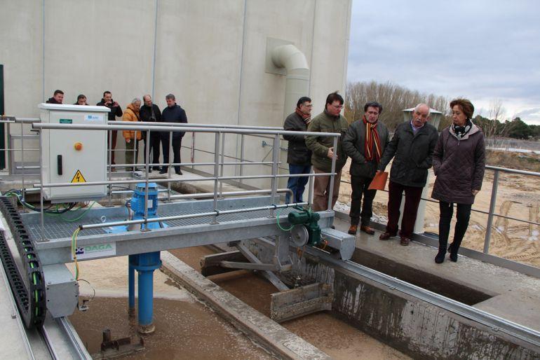 a622fe741f Distintas personalidades visitaron hace meses las instalaciones de la nueva  depuradora que entró en funcionamiento a