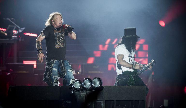 Axl Rose y Slash han aparcado diferencias para volver a la carretera