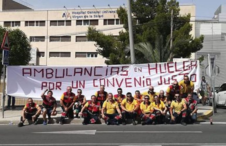 Huelga de ambulancias