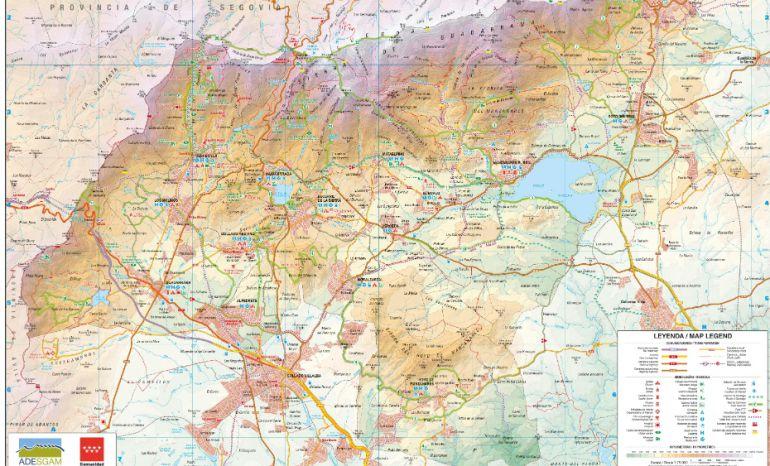 Adesgam Lanza Una Guia Con 24 Rutas Por La Sierra De Guadarrama