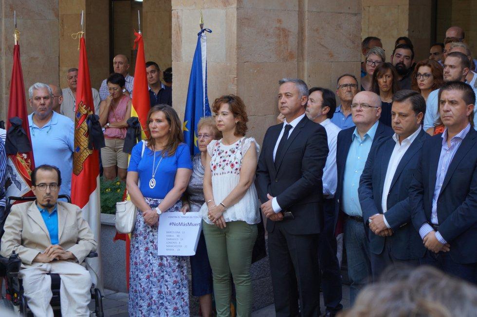 Así respondió Castilla-La Mancha al atentado de hace un año