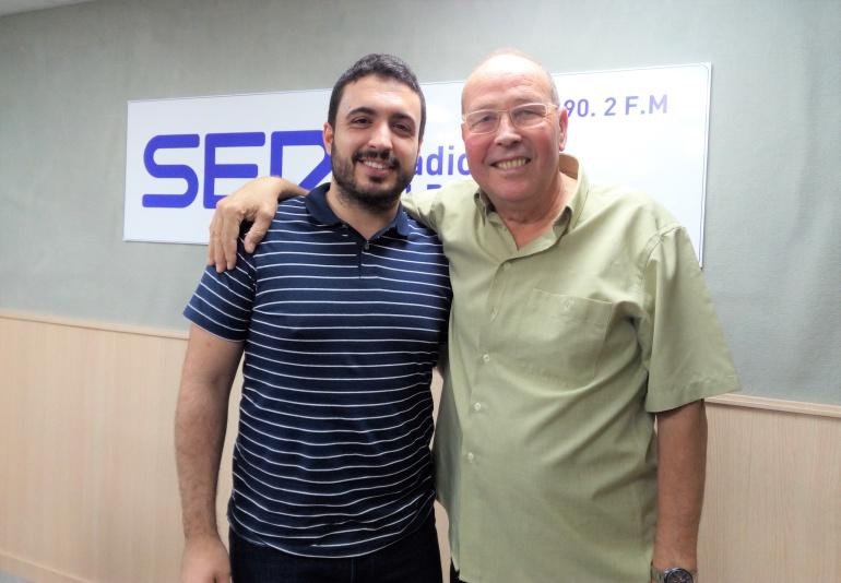Antonio Molina y Aitor Marco en Radio Elda