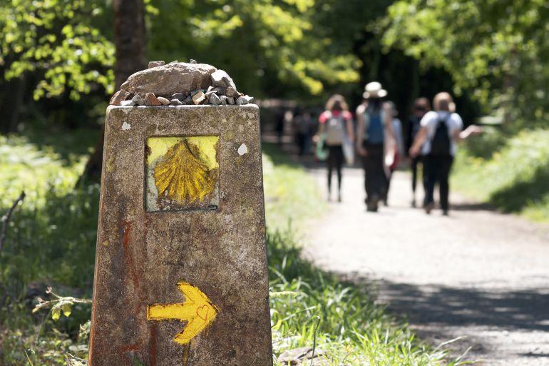 Nueva señalización para el Camino de Santiago Francés