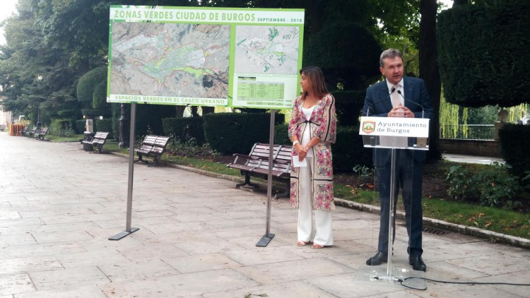 Burgos es la capital española con mayor superficie verde urbana