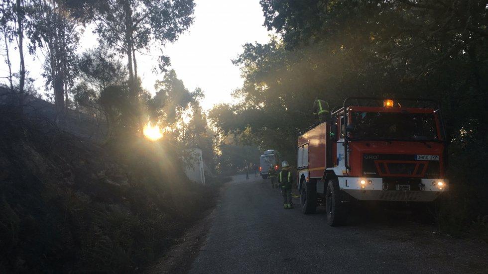 Incendio Mondariz: Así es la huella que dejó el incendio de Mondariz