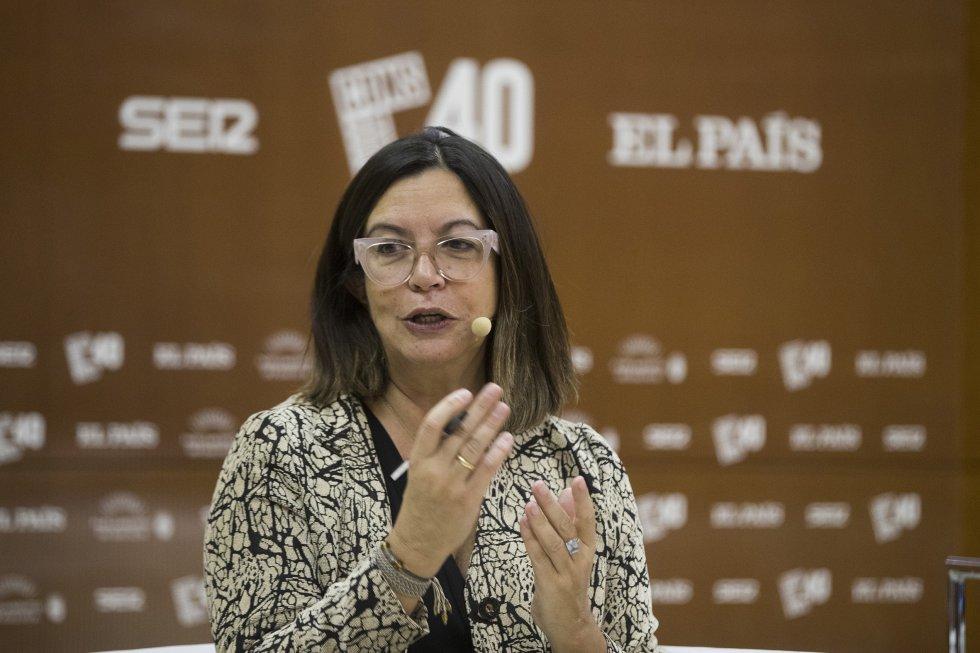 La directora de H25, Ángels Barceló, ha moderado el debate.